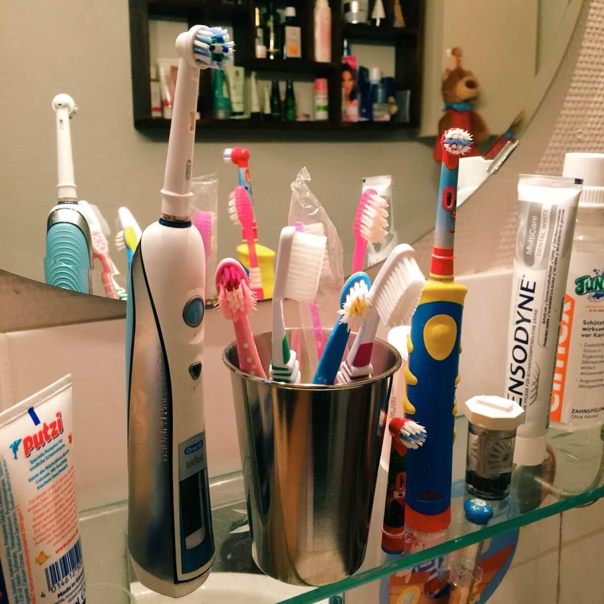 Die Angst vorm Zahnbürsten-Kauf