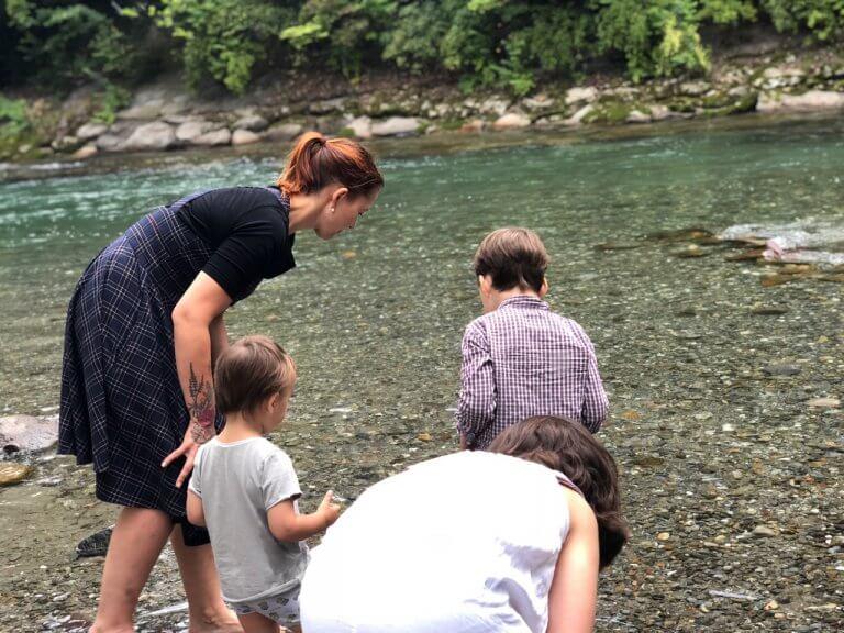 Über Tabaluga, eine verstopfte Wasserrutsche und einen Rucksack voller Steine